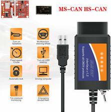 Ford Forscan Elm327 Usb Modified Obd2 Scanner V15 Ms Can Hs Can Code Reader