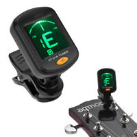 Digital Chromatic LCD Clip-On Electric Tuner forBass Guitar Ukulele Violin Ou TR