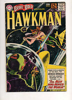 The Brave and the Bold #44 HAWKMAN GREY-TONE KUBERT COVER! F/VF 7.0! KEY 1962