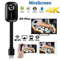 MiraScreen G9 Plus 4K 5G wireless HDMI wifi receiver Miracast Airplay TV Stick