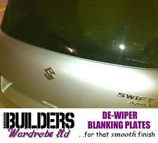 Suzuki Swift Ignis screwback dewiper bung blanking plate rear wiper delete