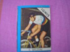 ERCOLE BALDINI IGNIS CYCLISME IMAGE FIGURINA CARD 1960 NANNINA ITALIE CICLISMO