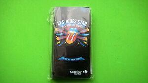ALBUM LES JOURS STAR avec les rolling stones - carrefour 2012 - no panini -