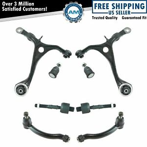 8 Piece Steering & Suspension Kit Control Arms w/ Ball Joints Tie Rods for TL