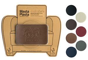 MastaPlasta Self-Adhesive Leather Repair Patch CROWN 10x6cm Sofa Car Seat Bags