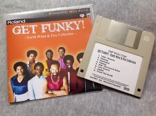 Roland MIDI File Disk - Earth Wind & Fire - Get Funky!