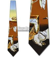 Time Warp Necktie Dali Ties Mens Art Neck Tie Salvador Brand New