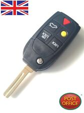 5 Button Car Folding Remote Key Fob Case Shell For Volvo XC90 Replacement
