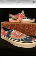 Vans Authentic Tie Dye Multicolor Sneakers Fashion VN0A38EMVKI Size 9