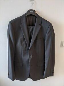 Hugo Boss Anzug Gr. 48 Mod. The Grand Central, kaum getragen, dunkelgrau, NP449€