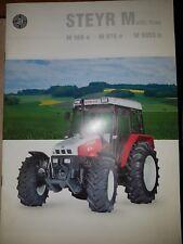 Prospekt Sales Brochure Steyr Multi Trac M 968a M 975 a M 9083a Traktor Technik