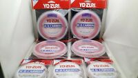 1pc Yo-zuri Disappearing Pink 100% Fluorocarbon Fishing Line Leader FC Japan