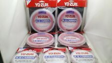 1pc Yo-zuri Disappearing Pink 100% Fluorocarbon Fishing Line Leader FC Japan