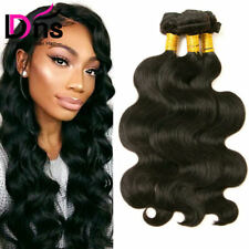 Brazilian Virgin Hair Body Wave Bundles 300g 100 Unprocessed Human Hair Weft 8a