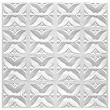 1 Qm Pannelli per Soffitto di Polistirolo Decorativi Deckenfliesen 50x50cm