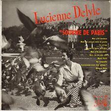 """LUCIENNE DELYLE """"SOURIRE DE PARIS"""" 50'S 25 CM PATHE 1113"""