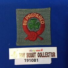 Boy Scout Ireland Scout Patch with Clover