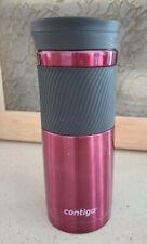 Contigo 20 oz. Byron SnapSeal Stainless Steel Double Wall Insulated Travel Mug