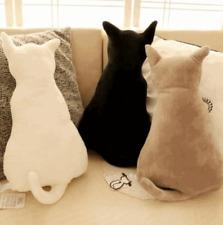 Schön Plüsch Stofftier Spielzeug Puppe Katze Kissen Kinder 30cm Geschenk