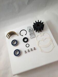 Volvo Penta Raw Water Sea Pump Rebuild Kit Impeller Seal Cam 3857794 3858847 OMC