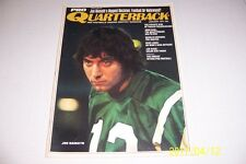 1971 Pro Quarterback NEW YORK Jets JOE NAMATH No Label FOOTBALL or HOLLYWOOD?