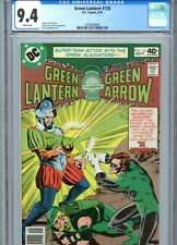 Green Lantern #120 CGC 9.4 White Pages DC Comics 1979