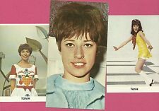 TONIA Arlette Antoine Dominicus Pop Singer FAB Card Collection