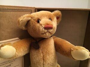"""Gund ~ Gold Label """"Treasured Teddies"""" 95029 ~ Mohair Teddy Bear ~ Cyril ~ 07/500"""