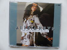 CD single promo ALICIA KEYS Like you'll never see me again 88697271712