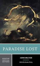 Paradise Lost (Norton Critical Editions), Good Condition Book, John Milton, ISBN