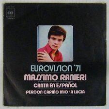 Massimo Ranieri 45 Tours Eurovision 1971 Espagne