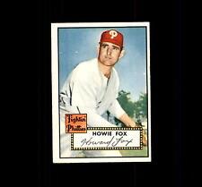 1952 Topps 209 Howie Fox EX #D447176