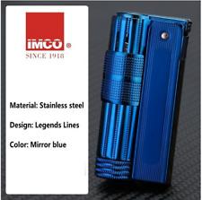 IMCO Genuine Vintage Style Petrol Lighter New Blue