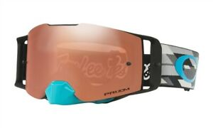 OAKLEY FRONT LINE MX GOGGLES TLD DEMO STEALTH PRIZM BLACK IRIDIUM LENS TROY LEE