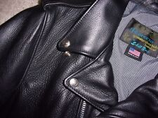NEW Schott NYC PERFECTO 525 CHIPS Police STEERHIDE Motorcycle LEATHER Jacket L