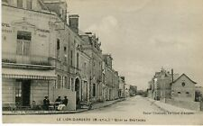 France Le Lion-D-Angers - Quai de Bretagne old postcard
