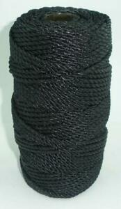 Catahoula 12324 Twisted Tarred Nylon Twine #24 260 Lb. Test 730 ft. 23568