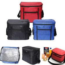Portable Cool Bag Insulated Thermal Cooler Food Drink Lunch Picnic Camping JJ