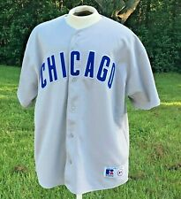 Chicago Cubs Garciaparra #5 Sewn MLB Baseball Jersey Size XXLarge Vtg RUSSELL