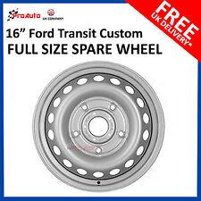 "16"" FORD TRANSIT CUSTOM  2012 - 2017 Full Spare Steel Wheel STEEL RIM"