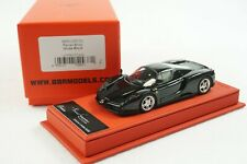 1/43 BBR FERRARI ENZO GLOSS BLACK DELUXE RED LEATHER LE 20 PCS MR