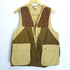 DuxBak Mens L Leather Trimmed Urethane Coated Game Bag Upland Bird Hunting Vest