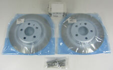 NEW GENUINE AUDI A4 A5 Q5 B8 REAR 310MM BRAKE DISCS + PADS SET