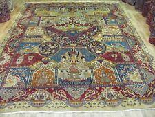 A REMARKABLE NEWHANDMADE KASHMAR PERSIAN CARPET (377 x 294 cm)