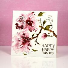 Penny Black cling mounted rubber stamp - PEONY, flower
