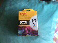 Kodak Genuine 10C Ink Cartridge - Coloured 420 Pages New Sealed Package