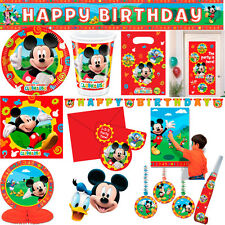 Mickey Mouse Clubhouse Party Supplies and Tableware - FREE DELIVERY
