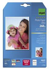 Sigel® Inkjet Fotopapier Everyday, hochglänzend, 200 g/qm, 10x15 cm, 72 Blatt