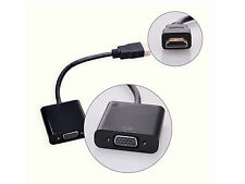 1080P HDMI Male to VGA Female DB15 Adapter Video Converter Cable for PC DVD HDTV