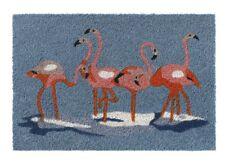 "Paillasson kokosmatte Flamingo "" Flamants Roses "" 1,5cm Paillasson"